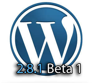 Wordpress 2.8.1 Beta 1