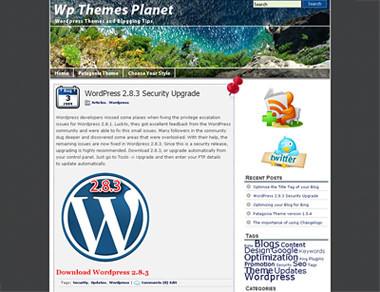 Patagonia WordPress Theme